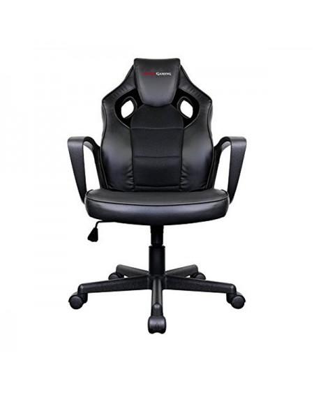 Chaise de jeu Tacens MGC0BK Métal PVC Noir