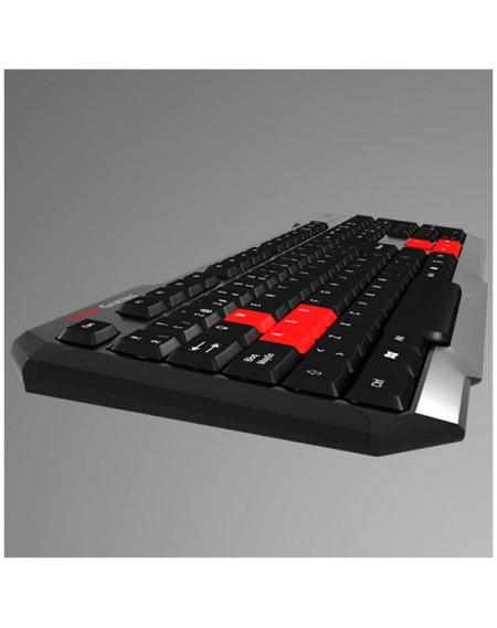 Clavier pour jeu Tacens MAK0 USB Noir Rouge