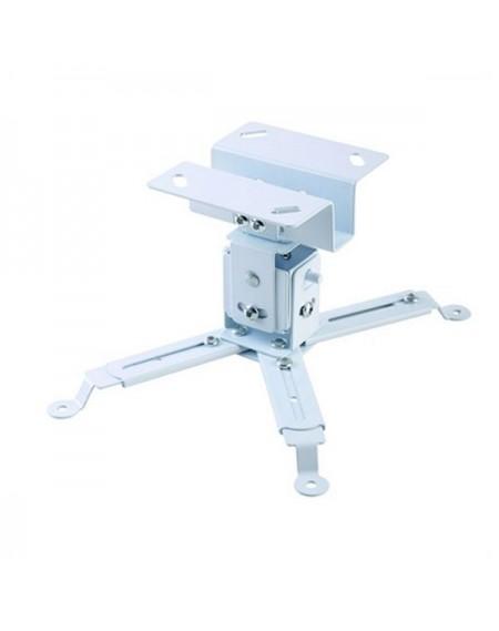 Support de Toit Inclinable et Rotatif pour Projecteur iggual STP01 IGG314708 -22,5 - 22,5° -15 - 15° Fer Blanc