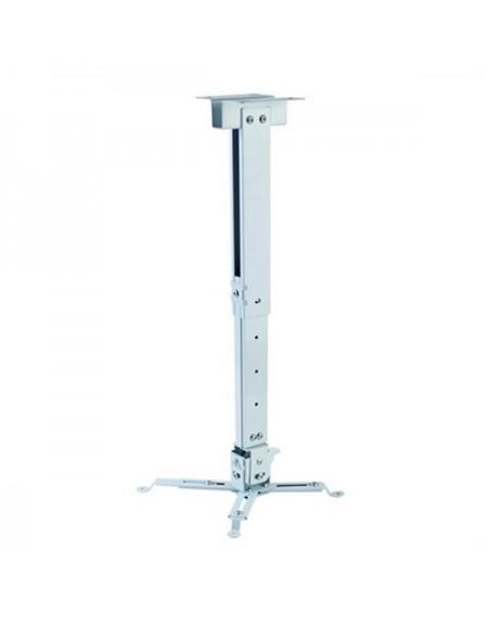 Support de Toit Inclinable et Rotatif pour Projecteur iggual STP02-L IGG314593 -22,5 - 22,5° -15 - 15° Aluminium Blanc