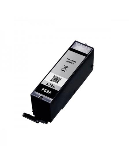 Cartouche d'Encre Compatible Inkoem M-PGI570XLBK Noir