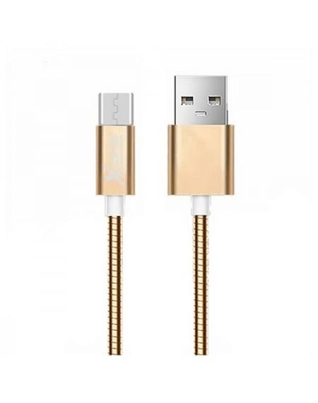 Câble Micro USB vers USB Ref. 101103 Or rose