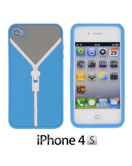 Coque iPhone 4/4S Fermeture Eclair