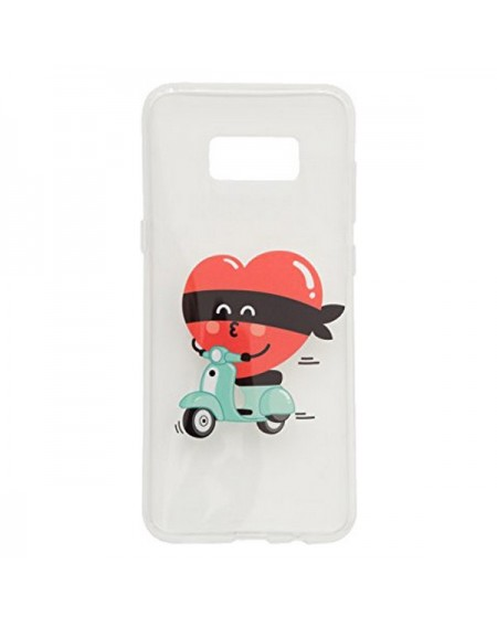 Protection pour téléphone portable Samsung S8+ Mr. Wonderful MRCAR100 Vespa