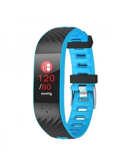 """Bracelet d'activités BRIGMTON BSPORT-16-A 0,96"""" OLED Bluetooth Bleu"""