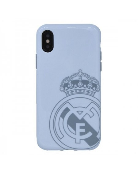Étui iPhone X Real Madrid C.F. RMCAR017 Blanc