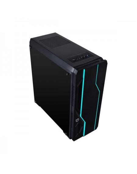 Boîtier Moyen Tour ATX avec Lecteur de Cartes Hiditec V10 RGB