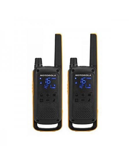 Talkie-walkie Motorola T82 Extreme (2 Pcs) Noir Jaune