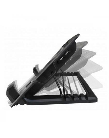 """Support de refroidissement pour ordinateur portable Ewent EW1258 17"""" Noir"""