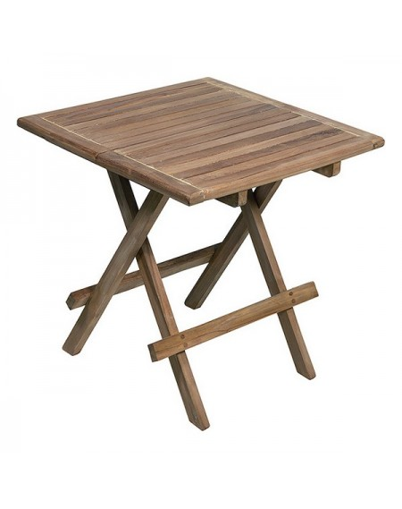 Table Piable (50 x 50 x 50 cm) Bois de teck