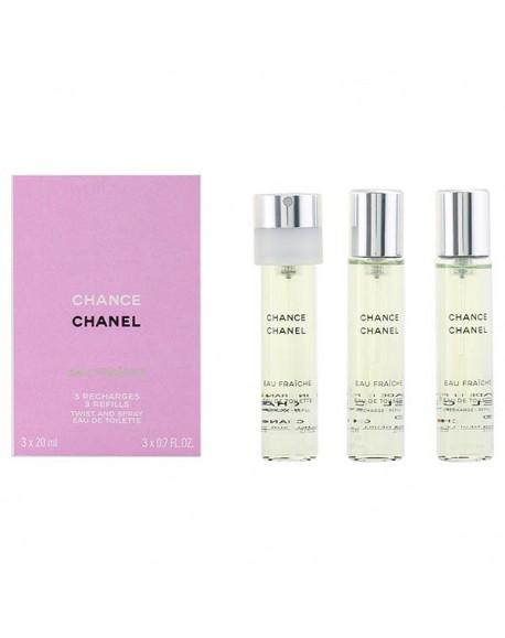 Set de Parfum Femme Chance Eau Fraiche Chanel (3 pcs)