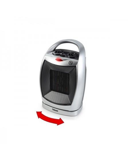 Thermo Ventilateur Portable en Céramique Tristar KA5038 1500W Noir Gris