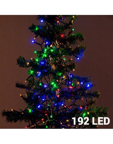Lumières de Noël Multicouleur (192 LED)