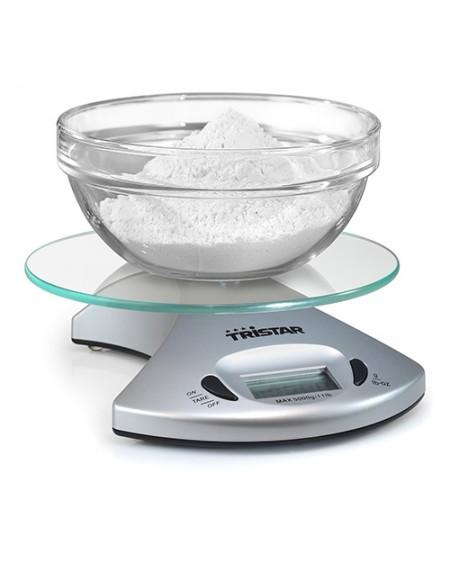 balance de cuisine numérique Tristar KW2431 5 kg Transparent