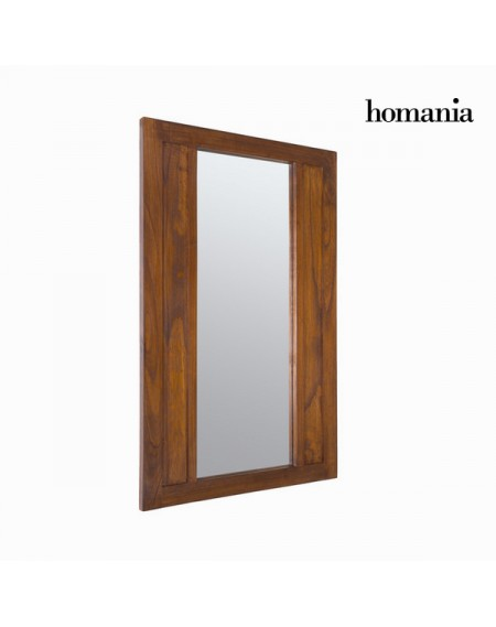 Miroir Bois mindi (110 x 70 cm) - Collection Chocolate by Homania