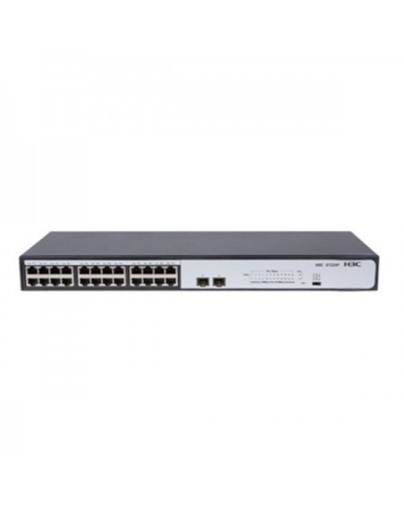 Switch H3C 9801AOSW 24 p 10 / 100 / 1000 Mbps 2 x SFP