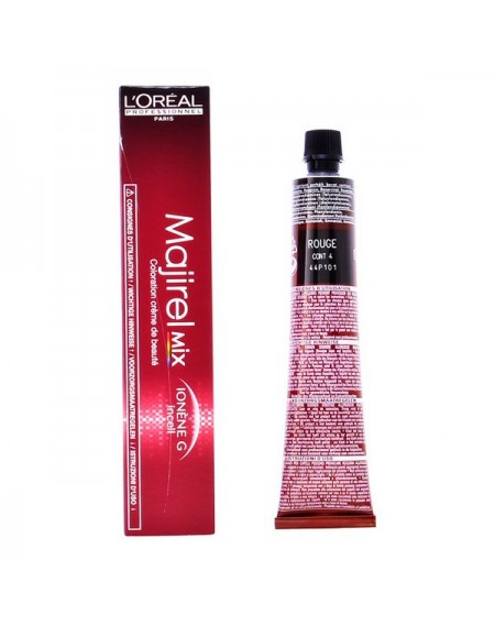Coloration Permanente en Crème Majirel Mix Rouge L'Oreal Expert Professionnel (50 ml)