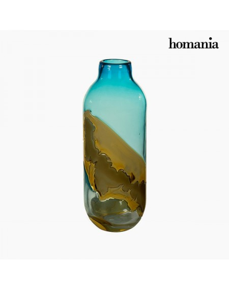 Vase Verre (12 x 12 x 33 cm) - Collection Pure Crystal Deco by Homania