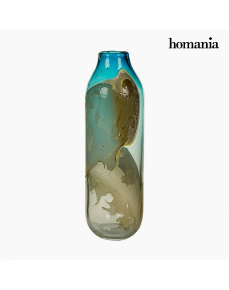 Vase Verre (14 x 14 x 44 cm) - Collection Pure Crystal Deco by Homania