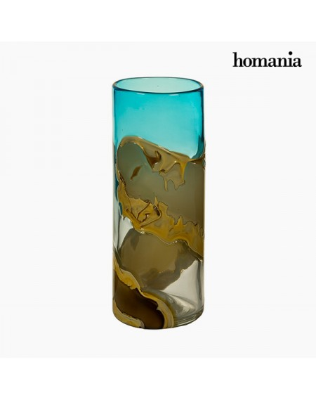 Vase Verre (12 x 12 x 30 cm) - Collection Pure Crystal Deco by Homania
