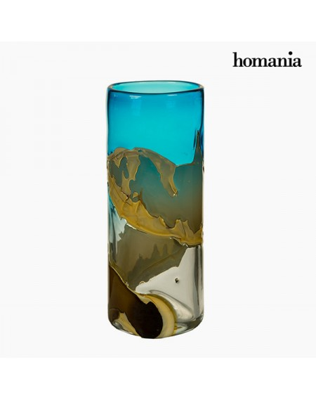 Vase Verre (14 x 14 x 35 cm) - Collection Pure Crystal Deco by Homania