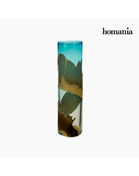 Vase Verre (12 x 12 x 45 cm) - Collection Pure Crystal Deco by Homania