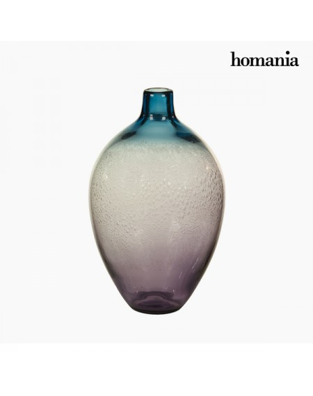 Vase Verre (20 x 20 x 35 cm) - Collection Pure Crystal Deco by Homania
