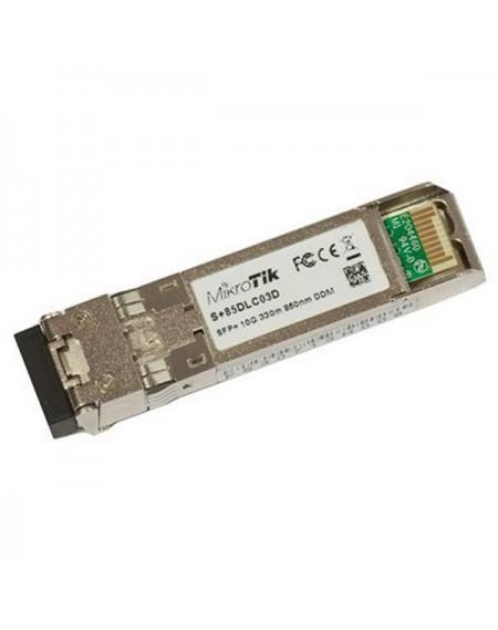 Module SFP+ à fibre optique multimode Mikrotik S+85DLC03D 300 m