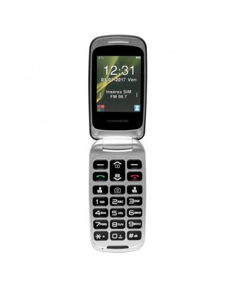 "Téléphone Portable Thomson SEREA 63 2,4"" VGA Bluetooth FM"