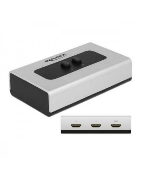 Switch DELOCK 87663 2 x HDMI