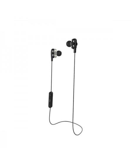Casques Bluetooth avec Microphone CoolBox COO-AUB-04DD Noir