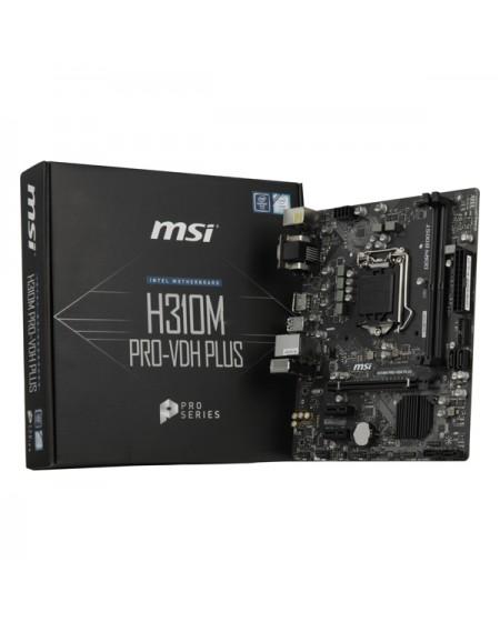 Carte mère Gaming MSI H310M PRO-VDH PLUS mATX LGA1151