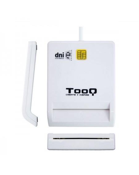 Lecteur de Cartes Intelligentes TooQ TQR-210W USB 2.0 Blanc