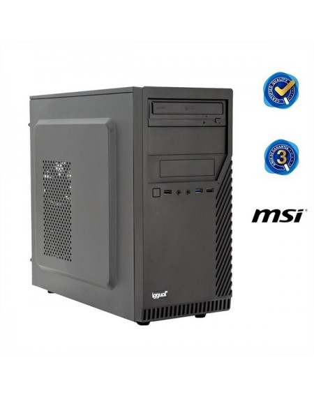 PC de bureau iggual PSIPCH41 G5400 4 GB RAM 1 TB HDD Noir