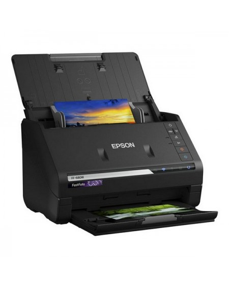 Scanner Double Face Epson FF680W 300 dpi 45 ppm WIFI Noir