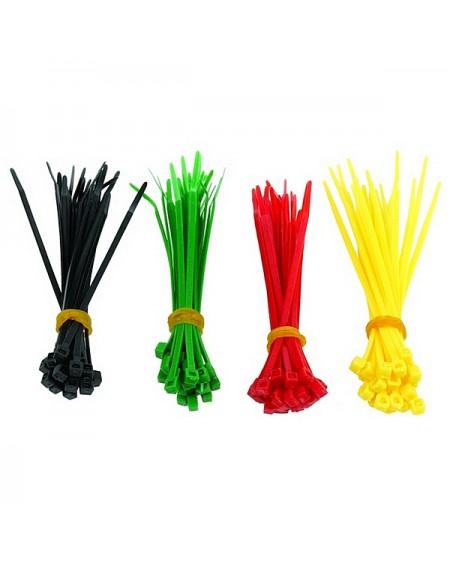 Attaches pour câble en nylon GEMBIRD NCT-100 (100 uds) Multicouleur