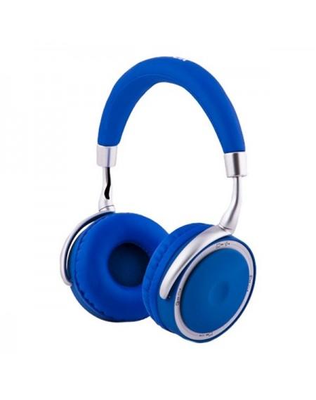 Casque Écouteurs Pliables avec Bluetooth CoolBox COO-AUB-12BL 300 mAh Bleu