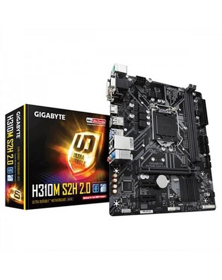 Carte mère Gaming Gigabyte H310M S2H 2.0 mATX DDR4 LGA1151