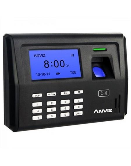 Système de Contrôle d'Accès Biométrique POSIFLEX EP300 LCD 500 dpi Noir