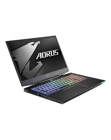 "Jeux sur ordinateur portable Gigabyte Aorus15 XA-7 15,6"" i7-9750H 16 GB RAM 512 GB SSD + 2 TB Noir"